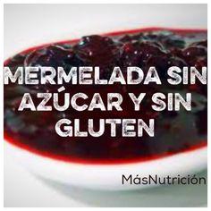 Mermelada sin azúcar y sin gluten