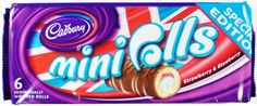 Check out the latest special edition @cadburyuk Mini Rolls!! ... likey like?