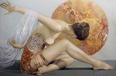 """Artiste peintre Pascal Dugourd: oeuvre de la serie """"les femmes"""" dugourd pascal"""