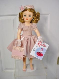 """R14 White shoes for 17/""""-18/"""" Miss Revlon type doll"""