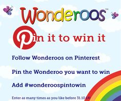Your chance to win a Wonderoo of your choice #wonderoospintowin