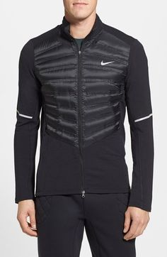 Nike 'Aeroloft' Down Running Jacket available at #Nordstrom