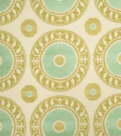Home Decor Print Fabric-Richloom Studio Teresa-Citrine Medallion at Joann.com