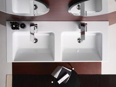 GSI ceramic | Norm, Washbasin 125x50  #GSIceramica #BathroomDesign #Sanitaryware #Washbasins