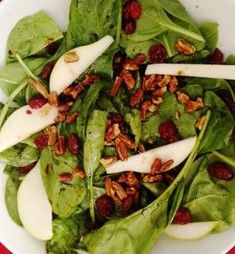 Oh So good spinach salad! Amazing delish recipe from Fall Renewal 10 Day Detox…. Oh So good spinach salad! Recipes Using Fruit, Top Recipes, Plant Based Recipes, Salad Recipes, Healthy Recipes, Pizza Hut Menu, 10 Day Detox, Ground Turkey Nutrition, Detox Salad