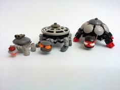 Lego turtles.