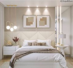 Home Decoration Online Shopping Code: 6456561908 Home Bedroom, Luxurious Bedrooms, Home Decor, Interior Design Bedroom Small, Room Decor Bedroom, Modern Bedroom, Small Bedroom, Bedroom Decor, Bedroom Layouts