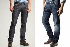 Guia de calça jeans masculino