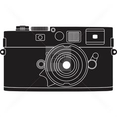 Creative Daniel, Ray, Cole, and Leica image ideas & inspiration on Designspiration Camera Illustration, Digital Illustration, Vintage Graphic Design, Stock Art, Cd Cover, Leica, Logos, How To Draw Hands, Black And White