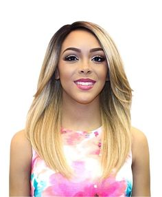 It's a Wig Synthetic Swiss Lace Front Wig JUSTINE
