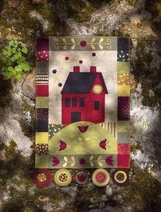 folk art quilt by Marianne Byrne-Goarin