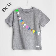 T-Shirt Garland grey / pom berlin