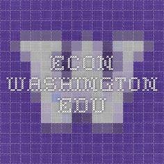 econ.washington.edu