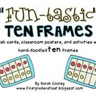 Ordinary ten frames are boring.  These ten frames are FUN-tastic!  This 62 page packet includes all things ten frames, and looks unique and adorabl...