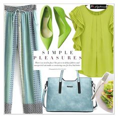 """Simple pleasures"" by teoecar ❤ liked on Polyvore"