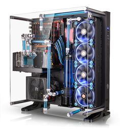 Mount Your PC To the Wall With Thermaltake's Core P5 ATX Case