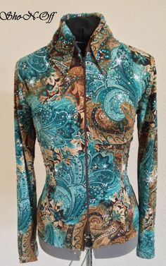 Love these colors... HORSE SHOW CLOTHING, WESTERN HORSE SHOW APPAREL-SHO-N-OFF