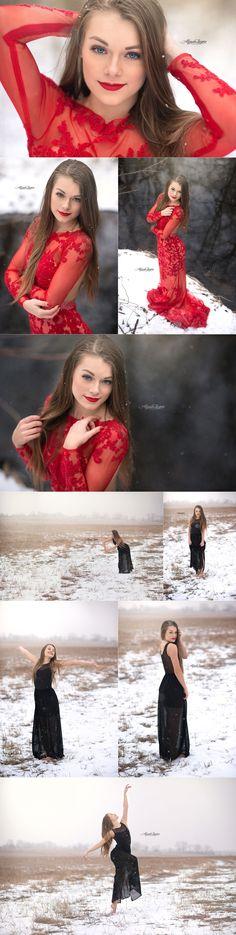 Chicago senior pictures | Illinois Senior Pictures | Alyssa Layne Photography | Winter Session | Senior Pictures | Senior Pose | Posing Ideas | Senior Photographer | Snow #SnowPhotography