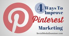 Improve Your Pinterest Marketing with Analytics I'm still warming up to…