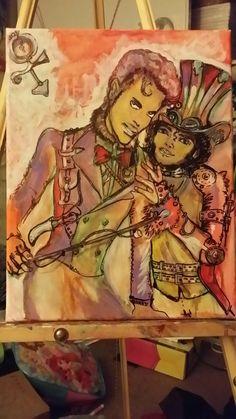 STEAM PUNK Shalla Art Caricatures  (702) 604-2377