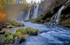 Take a moment to enjoy this refreshing sight of the Hat Creek, just beyond the Burney Falls in Northern California. Fly-fishing fanatics love this place.