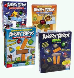 The Playful Otter: Angry Birds on Thin Ice, Knock on Wood, Happy Holi...
