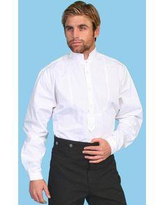Wahmaker by Scully High Collar Long Sleeve Shirt