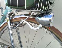 Bicycle Front Fender Torpedo Bullet Light Old School Vintage Cruiser Bike Trike