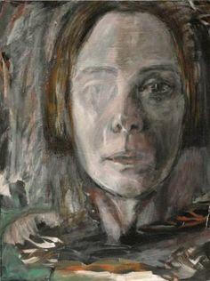 "Saatchi Art Artist Kathleen Noyes; Collage, ""Head #2"" #art"