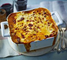 Mary Berry's Classic Lasagne recipe has been perfected over the years. For the best results leave the lasagne to stand for six hours before cooking. Lasagne Recipes, Beef Recipes, Cooking Recipes, Pasta Recipes, Bbc Good Food Recipes, Dinner Recipes, Veg Lasagne, Best Lasagna Recipe, Pasta Dishes