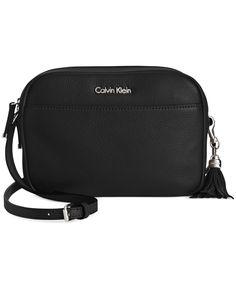 Calvin Klein Classic Pebble Crossbody - Calvin Klein - Handbags & Accessories - Macy's
