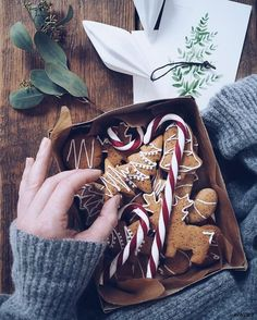We're in the mood to bake some spiced biscuit goodness, procrastinate from buying gifts and curl up on the sofa with a good Christmas film. But we guess that's going to have to wait till the weekend. Work is calling....