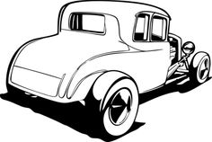 stewartkb ( Looks great! Cnc, Car Drawing Pencil, Pencil Art, Cool Car Drawings, Cars Coloring Pages, Free Cartoons, Automotive Art, Car Pictures, Hot Rods