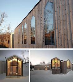Refugio de vacaciones - Geilo, Noruega - Reiulf Ramstad Arkitekter
