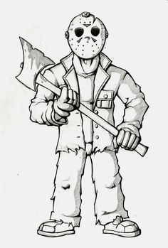 Jason coloring page                                                                                                                                                                                 More