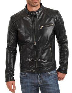 Cappotti pelle Giacche Vintage Brown SHPPING Mens casuale cappotto taglie forti 5XL Maschio Abbigliamento Breve Slim Cowskin pelle