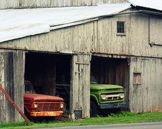 *A truck in every barn...that's country.