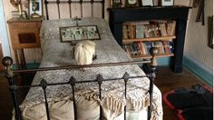 The bedroom of a World War One soldier, killed on the battlefield almost a century ago, has been kept virtually untouched by successive owners of the house up to the present day.