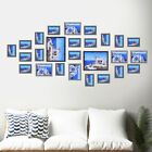 26 PCS White Wood Multi Picture Collage Set Photo Frames Home Decor Wall Mounted | eBay Living Room Decor Photos, Home Wall Decor, Collage Frames, Frames On Wall, Picture Frame Glass Replacement, Picture Cards, Picture Frames, Multi Picture, Frame Display