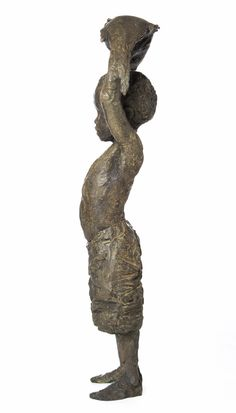 An original work by Toby Megaw entitled: Triumph!, bronze, h 102cm. For more please visit www.finearts.co.za