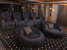 Image result for home movie theater seating options