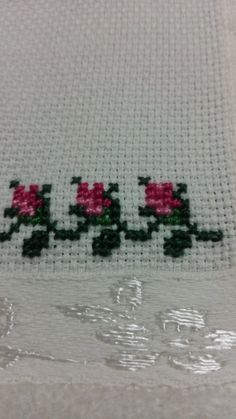 Dilek Saltuk Çetin's media content and analytics Cross Stitch Cards, Cross Stitch Borders, Cross Stitch Flowers, Modern Cross Stitch, Cross Stitch Patterns, Baby Embroidery, Hand Embroidery Patterns, Cross Stitch Embroidery, Embroidery Designs