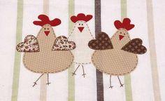 galinhas aplique