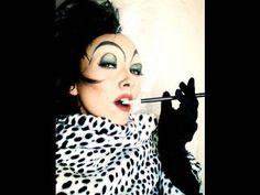How-to traditional Cruella eyes