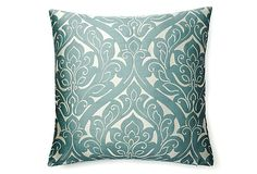 beautiful! Fontainebleau 20x20 Pillow, Gray on OneKingsLane.com