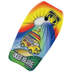 "Body Glove makes awesome bodyboards that sets trends in the sport of bodyboarding. The 33"" Classic Car board features sweet graphics and eye catching colors and includes a leash so your board won't get away. Perfect board for beginners or intermediate riders"