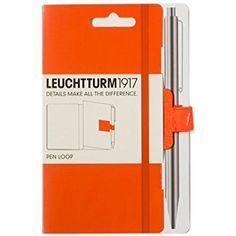 Amazon.com : Leuchtturm 1917 Orange Pen Loop : Office Products