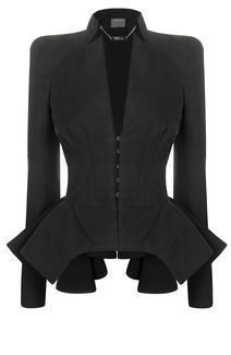 Gorgeous jacket from Alexander McQueen. All the right lines in all the right places