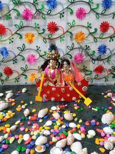 Krishna Art, Lord Krishna, Radha Kishan, Shree Krishna Wallpapers, Laddu Gopal Dresses, Ladoo Gopal, Krishna Janmashtami, Indian Festivals, Indian Gods