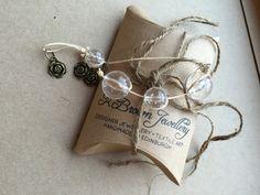 www.kbrownjewellery.etsy.comGlass Beaded Bracelet, Rose Charm Bracelet, Charm Bead Bracelet, Handmade Charm Bead Bracelet, Designed by K Brown Jewellery, Edinburgh, U.K by KBrownJewellery on Etsy